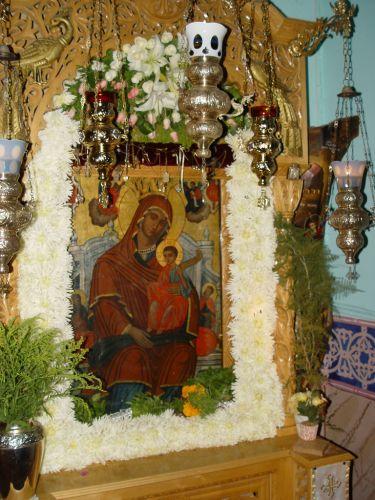 Παναγία  η Ωραιοτάτη- Η θαυματουργός εικόνα της Παναγίας της Βλοχαϊτίσσης   Ιερά Μονή Βλοχού Αιτωλοακαρνανίας